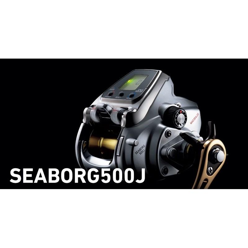 ◎百有釣具◎DAIWA SEABORG 500J 電動捲線器 ~集力量及速度於一身的高級機型!