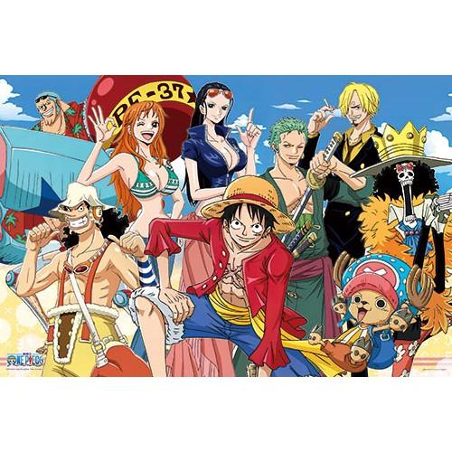 海賊王前進新世界拼圖1000片-貨號: HP01000-111 1000片拼圖
