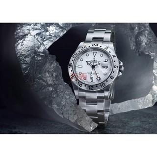 competitive price 975a4 3c139 萬錶行ROLEX勞力士-探險家型II系列16570-78790白機械男錶  蝦皮購物
