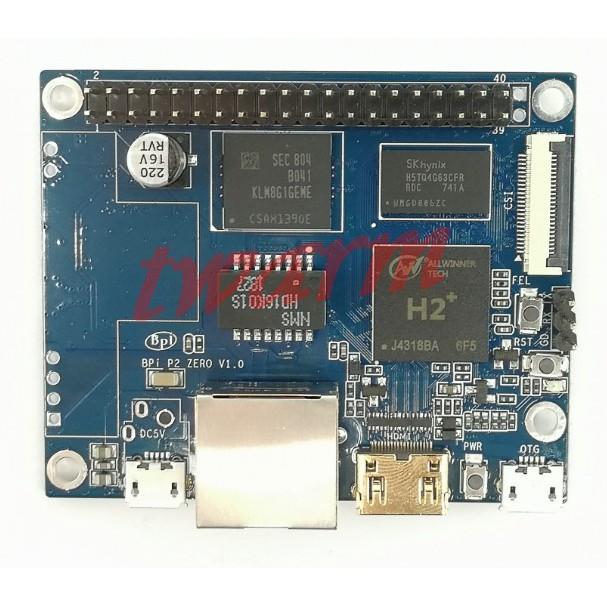 TW11387/香蕉派 Banana Pi P2 Zero (BPI-P2 Zero)四核開發板 全志H2+ 512M內