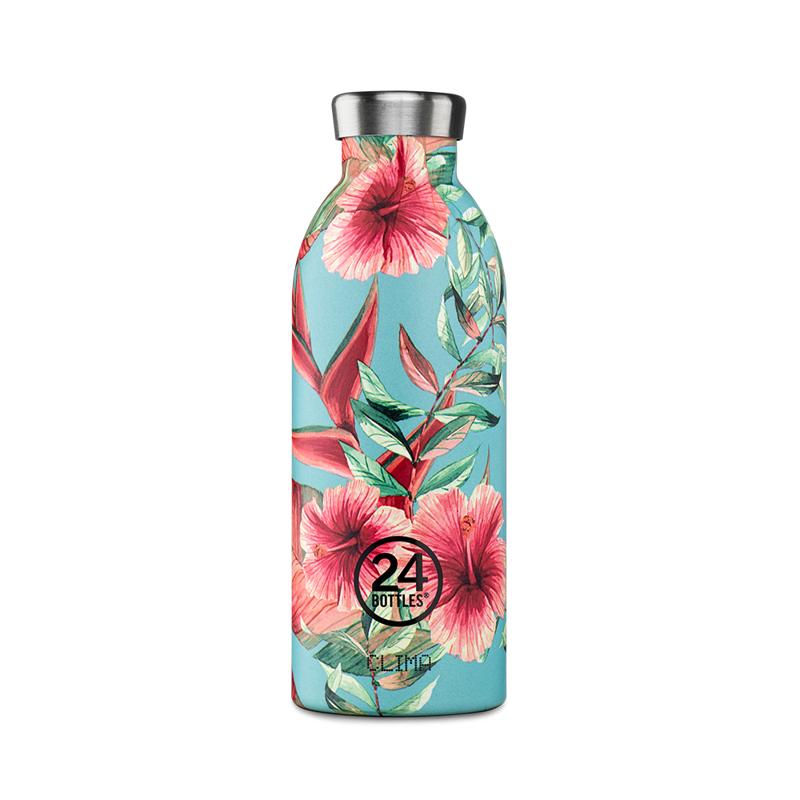 【24Bottles 城市水瓶】不鏽鋼雙層保溫瓶 500ml (附濾茶器)/佗寂之美