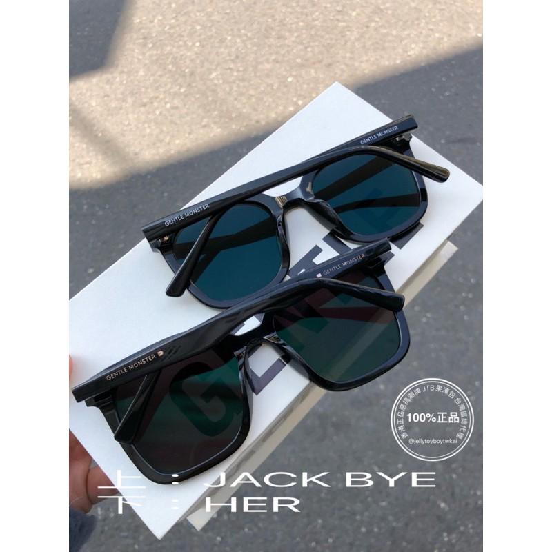 2020 全新正品 gentle monster HER 01黑色框 GM Flatba系列 太陽眼鏡