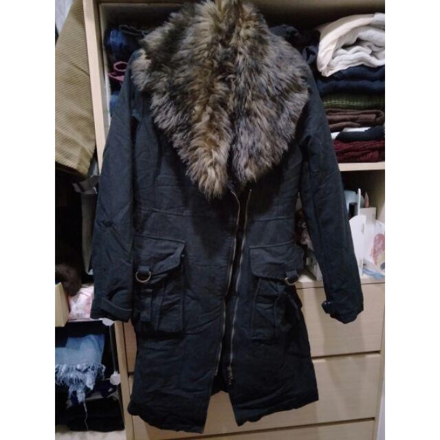 正品 ck長版大衣 L號 很少穿