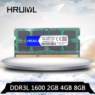 筆記型 記憶體 DDR3L 1600 2GB 4GB 8GB 筆電型 RAM 1.35V (原廠顆粒 三星雙面顆粒)
