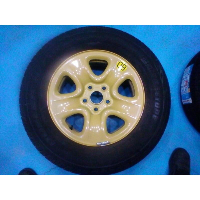 單顆賣,原廠備胎 16吋 鈴木金吉星GRAND VITARA JP 5孔/114.3 5/114.3 輪胎附贈2005年