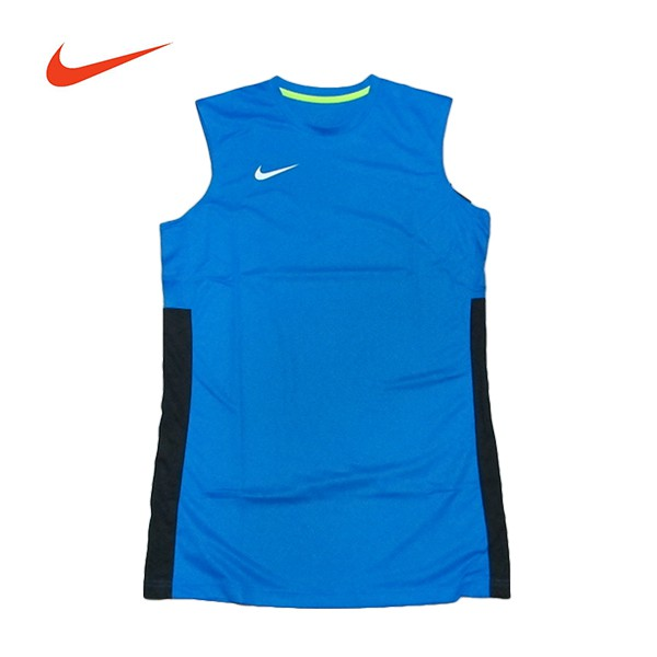 NIKE【839436-406】團體球衣 NIKE球衣 單面 透氣孔 藍黑