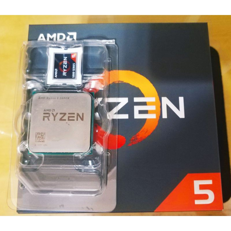 AMD Ryzen r5 2600x 處理器