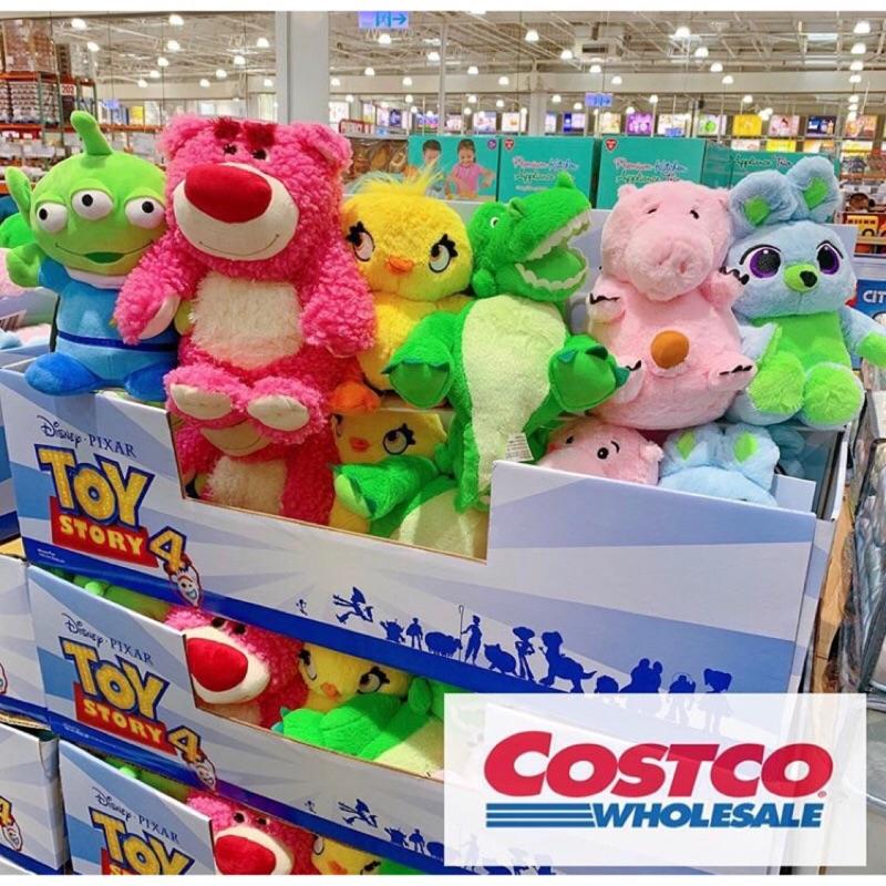 現貨❤Costco玩具總動員4 絨毛玩偶 熊抱哥/三眼怪 培根 兔子 鴨霸 抱抱龍 Ducky Costco 拆售