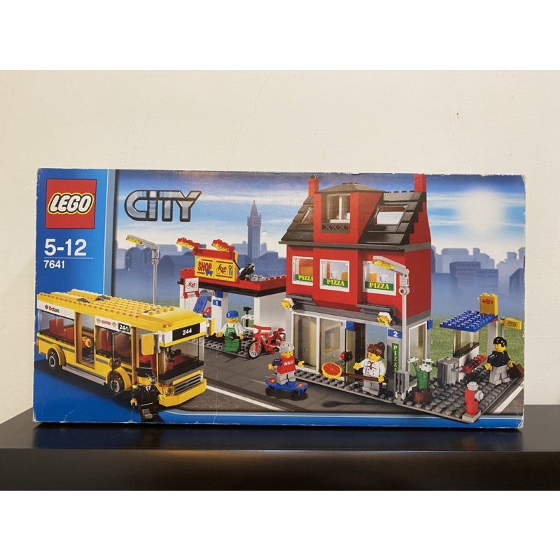 LEGO(7641) CITY系列,全新商品,未拆封