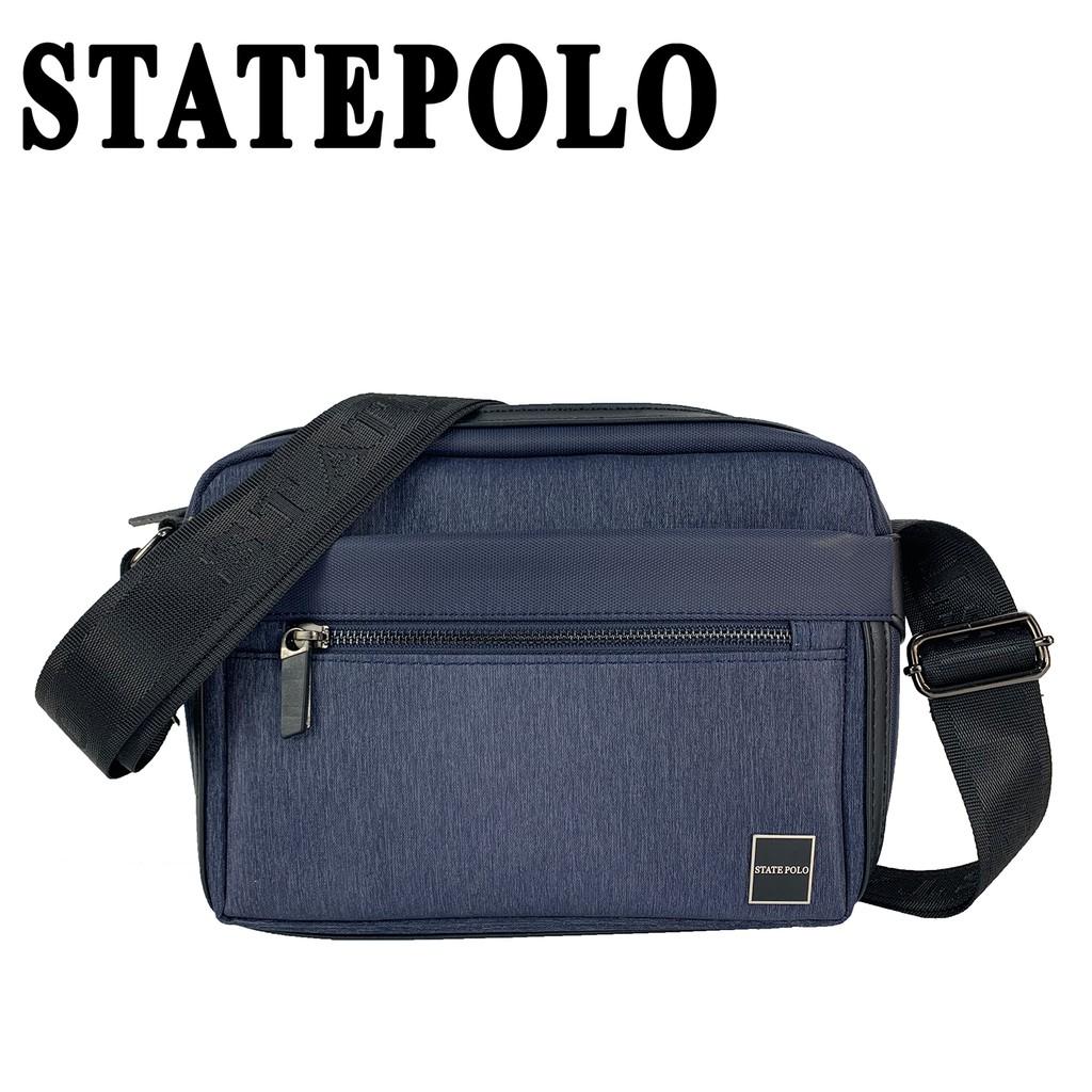 STATE POLO 低調質感休閒側背包 NO:1801