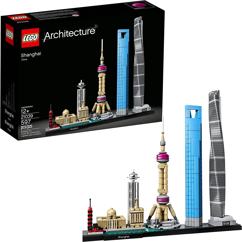 【免運】【樂高】LEGO樂高積木21039上海天際線地標建築系列風景線拼裝玩具模型【積木】