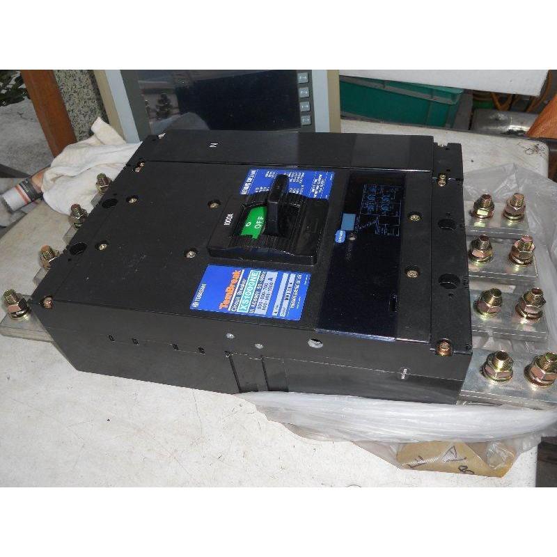 日本 寺崎斷路器TERASAKI 無熔絲開關XS1000-NE 4P 800A-1000A可調式 TO-1000B