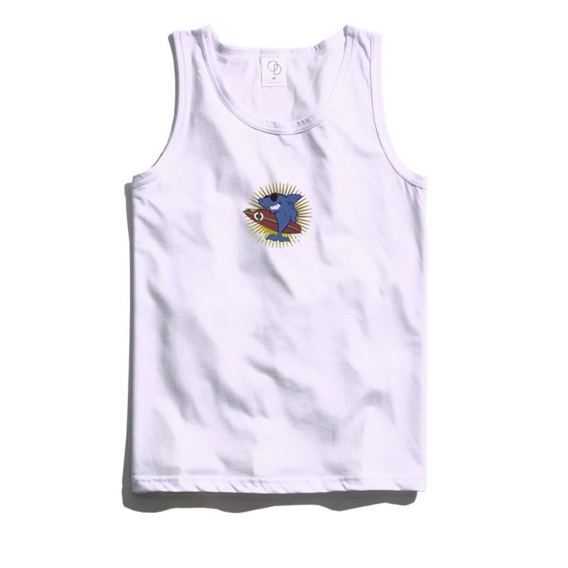 ONE DAY 台灣製 162C48 素背心 寬鬆衣服 短袖衣服 衣服 T恤 短T 素T 寬鬆短袖 背心 透氣背心