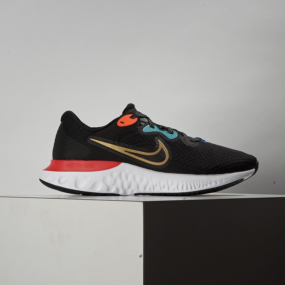 Nike Renew Run 2 男款 黑 藍 橘 輕量 透氣 舒適 休閒 運動 慢跑鞋 DJ0033-061