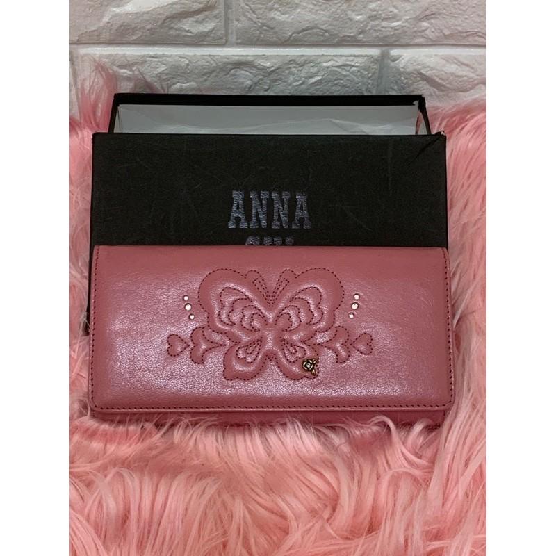 正版專櫃 Anna sui 安娜蘇 皮夾,長夾