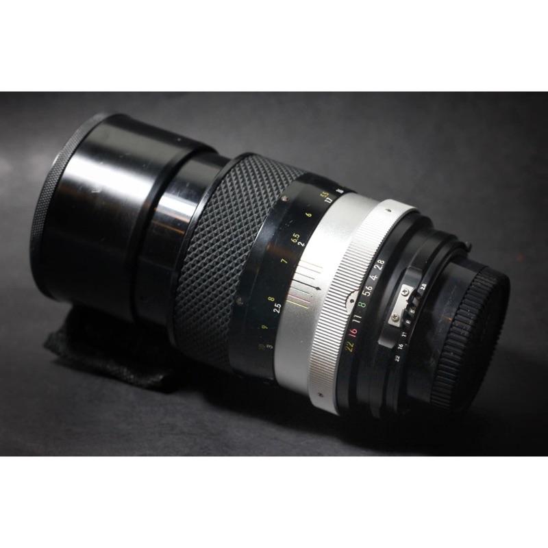 Nikon NIKKOR-Q 135mm F2.8 稀有AI口 (數位、底片可用)