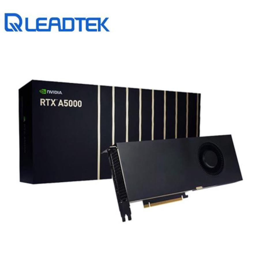 全新公司貨 Leadtek麗臺 NVIDIA RTX A5000 24GB GDDR6 384bit 工作站繪圖卡顯示卡