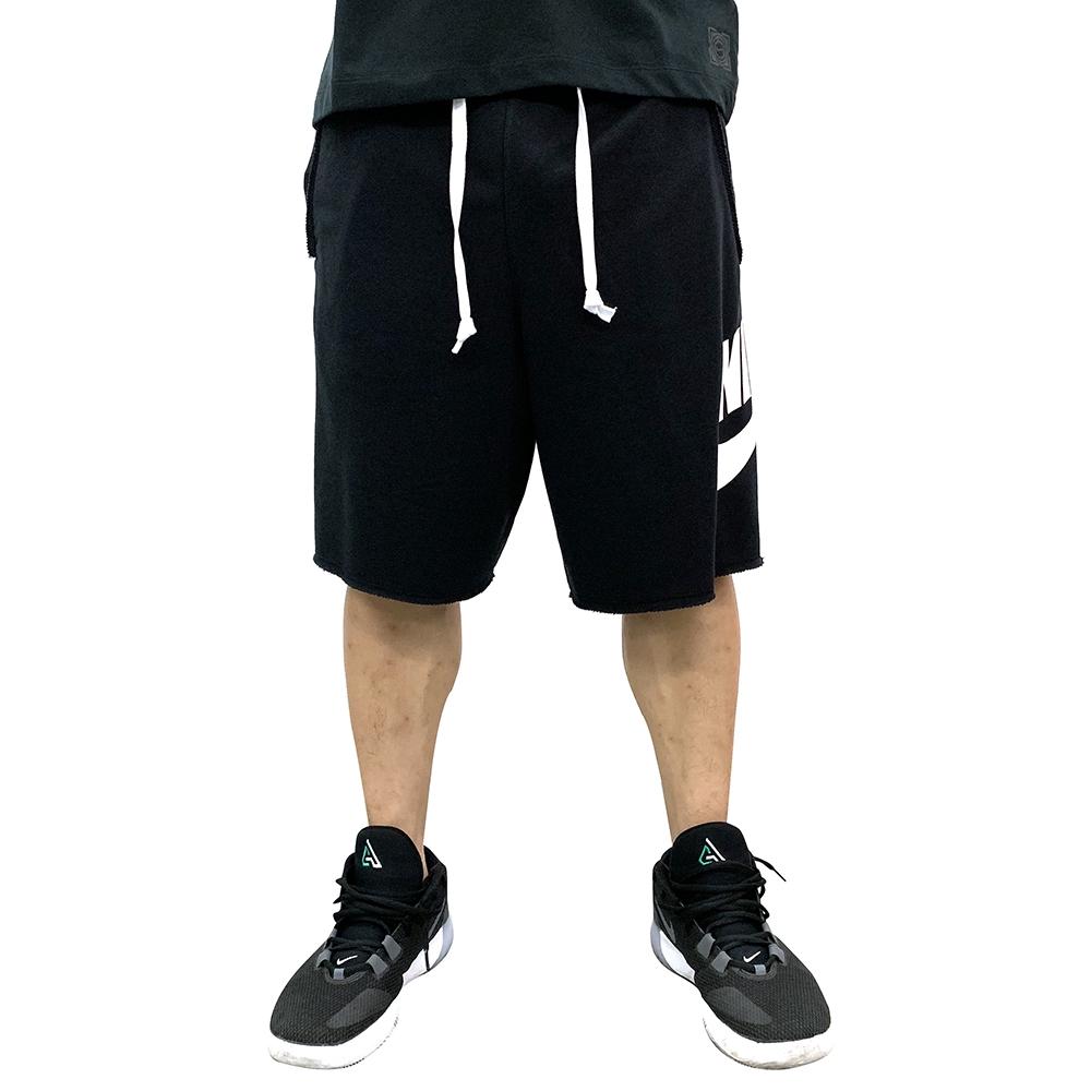 NIKE AS M NSW HE SHORT FT ALUMNI 男短褲 AR2376010 黑