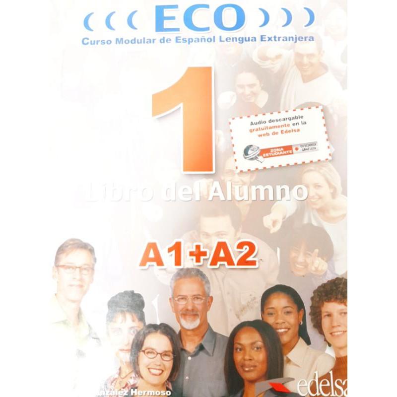 Eco A1+A2 西語學習書