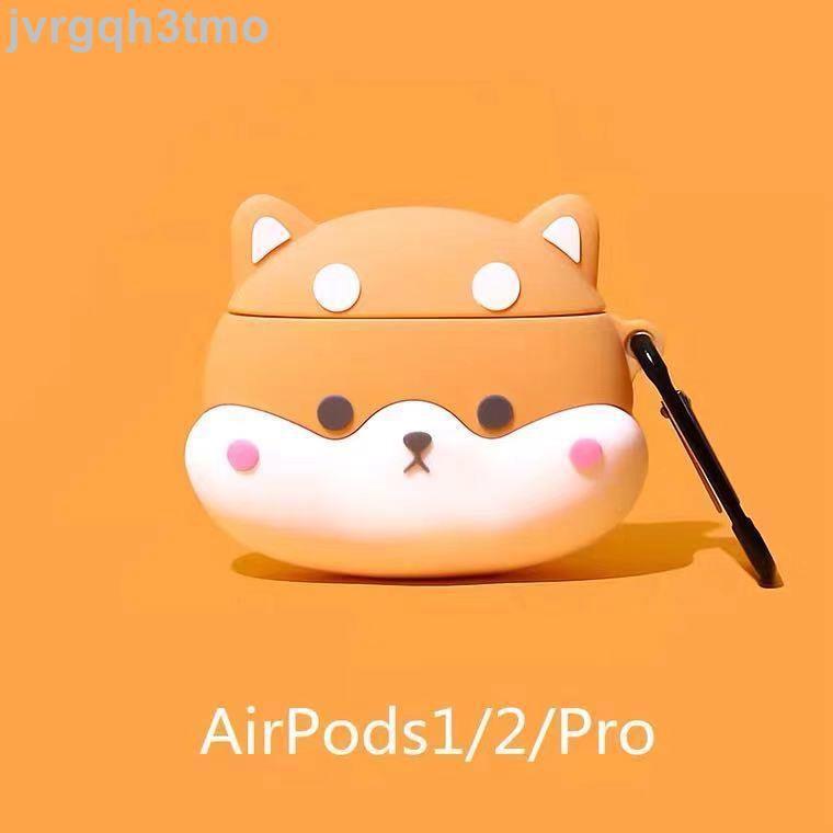 【小新】柴犬 卡通 airpods airpods2 pro apple/蘋果無線耳機殼 保護套 保護殼 耳機套