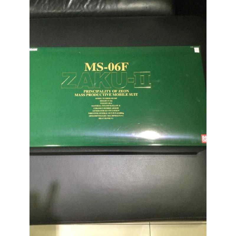 【BANDAI】GUNDAM鋼彈 PG 1/60 MS-06F 量產型薩克II