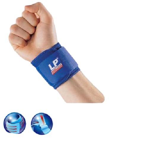 【LP SUPPORT】護具 護腕 LP 753 單片式腕部調整束套 單一尺寸 (1個裝) 【宏海護具專家】