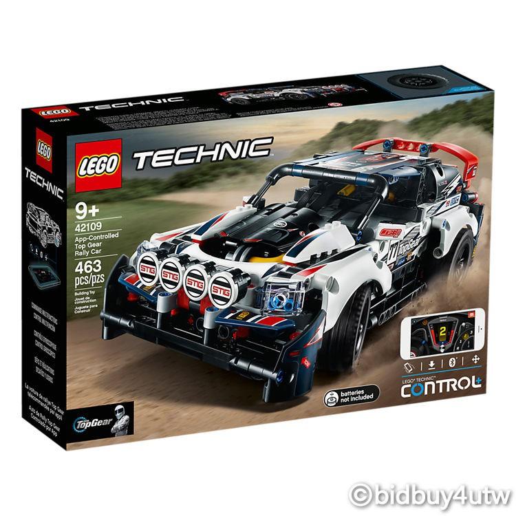 LEGO 42109 Top Gear 拉力賽車 動力科技系列 【必買站】樂高盒組