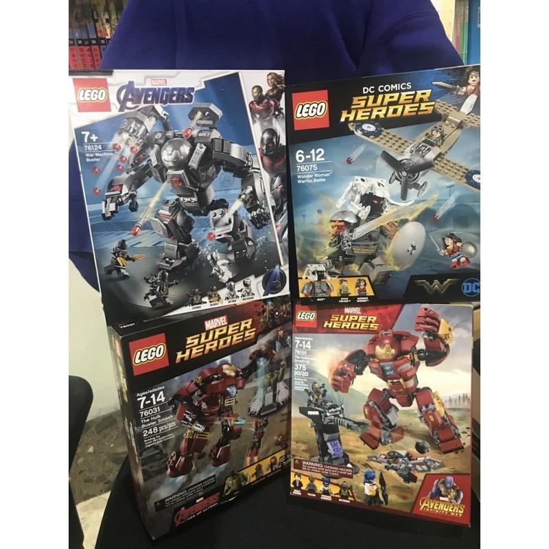 Lego 76104/76031/76124/76075