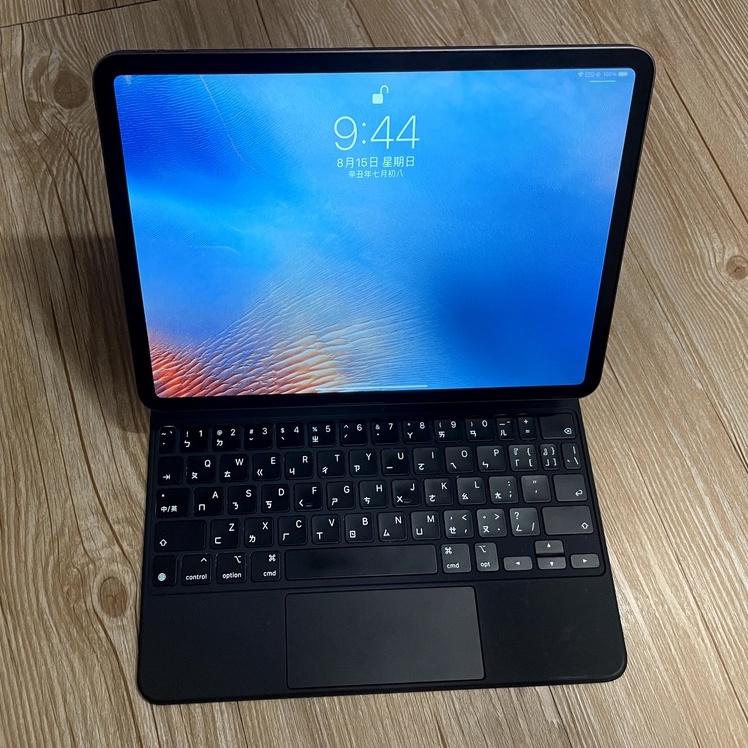 「二手」ipad pro 2020 11吋(含巧控鍵盤+拓展塢+觸控筆+防撞包+2名牌保護套等周邊配件)