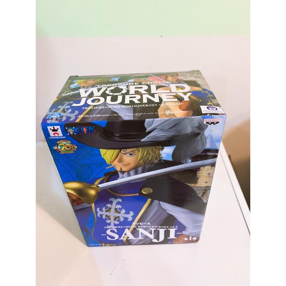 [公仔獵手] 225 海賊王 航海王 香吉士 Sanji 騎士 尋寶之旅 World Journey 代理版 寬盒 公仔