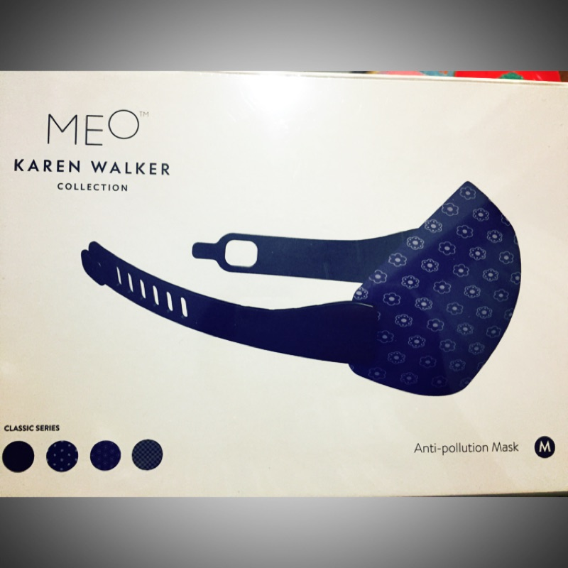紐西蘭 高效防護口罩 禮盒 現貨 1 Meo KN99 Karen Walker Face Mask 經典款 M號