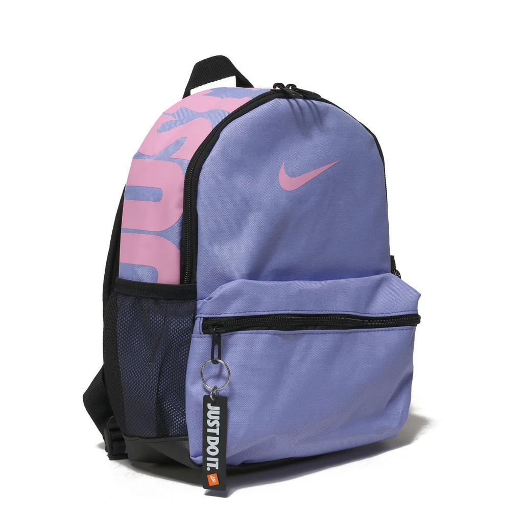 賓工廠 NIKE JUST DO IT MINI PACK 粉藍粉紅小朋友BA5559-477 後背包 ... 4843cc8f33107