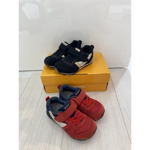 日本月星Moonstar機能童鞋 HI系列 預防矯正款尺寸16