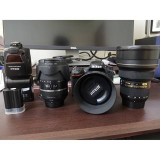 Nikon d750大清倉(14-24mm f/ 2.8+85mm F1.4D+SB800閃燈+Tamron 28-300 高雄市