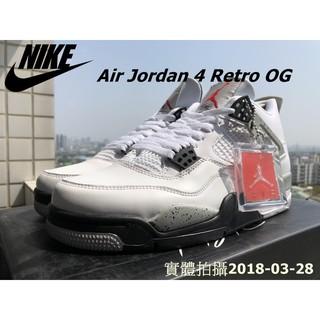 實體拍攝 Air Jordan 4 Retro OG 大理石 白水泥 潑墨 840606 192