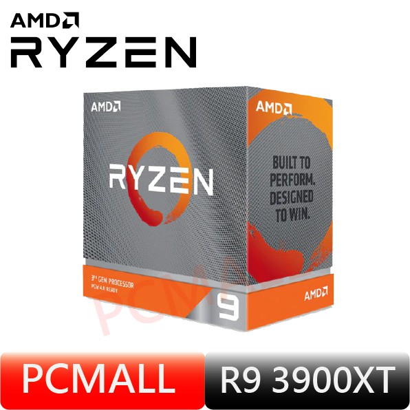 AMD R9 3900XT (12核/24緒) CPU 處理器 中央處理器 代理商 三年保