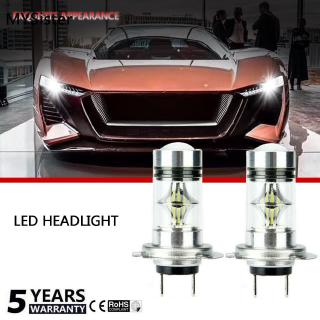 對H7 10000W 150000LM汽車LED大燈COB套件霧燈6000K CREE白色