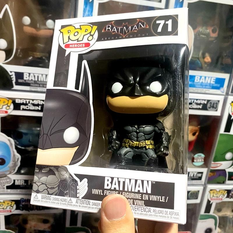 [李大] 正版現貨 Funko POP DC 蝙蝠俠 阿卡漢騎士 Batman #71