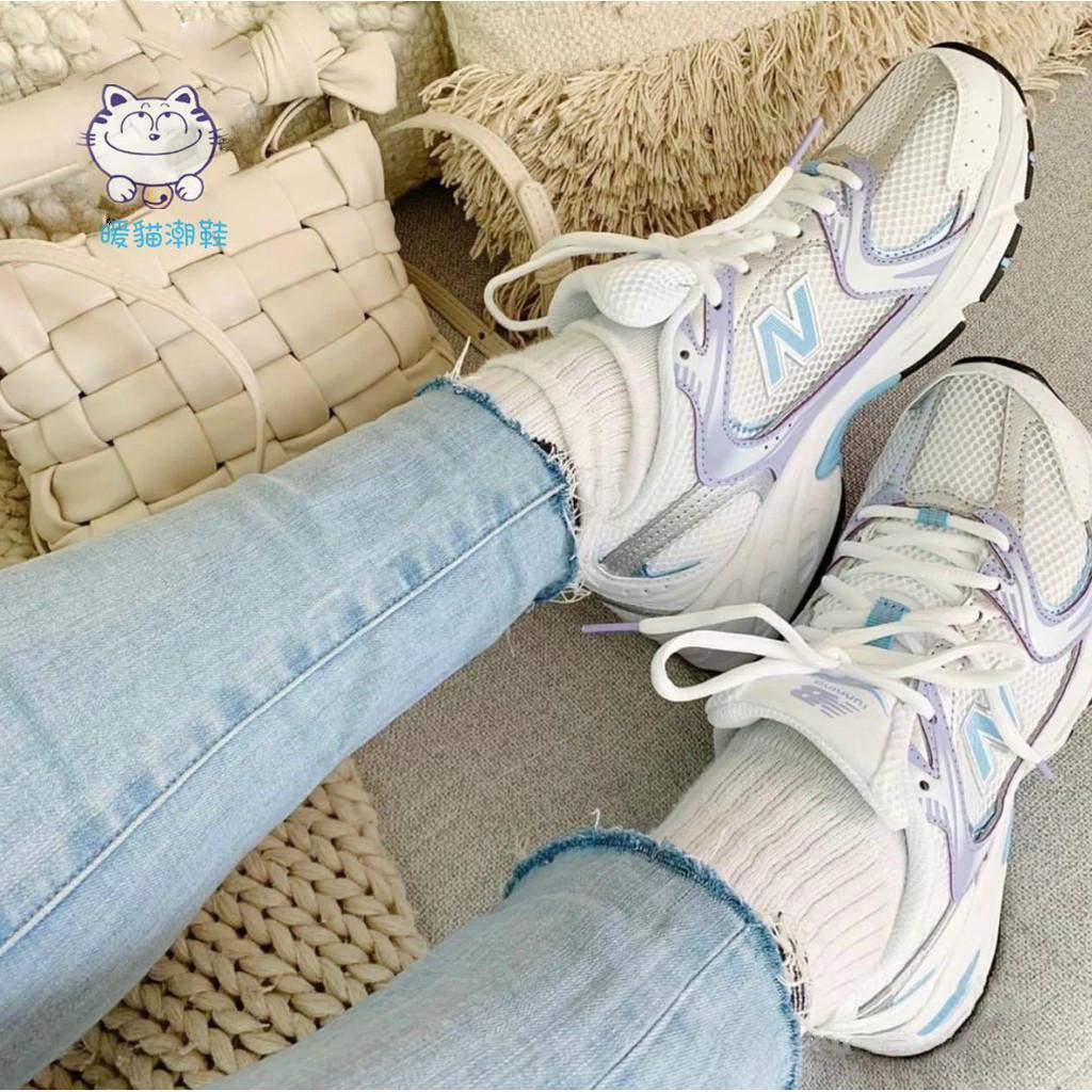 韓國代購 New balance NB MR530 紫色 白銀 復古 男女網布老爹鞋 跑步休閒鞋