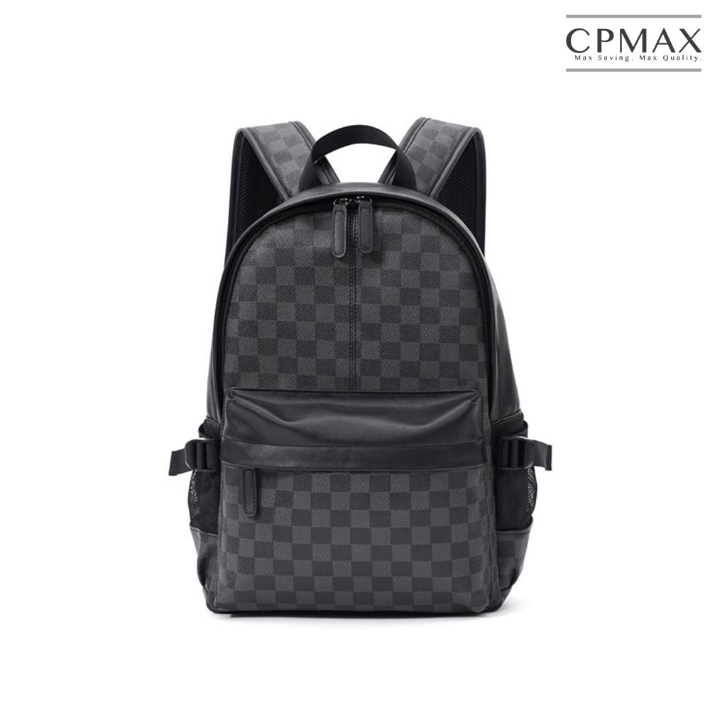 CPMAX 高質感PU皮後背包 時尚後背包 大容量後背包 潮流後背包 背包 後背包 PU皮後背包 大容量 潮流 O97