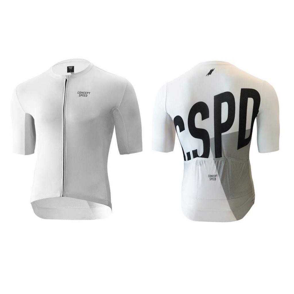 ▼樂威單車▼CSPD車衣褲.CONCEPT SPEED人身部品.Essentials Jersey - White