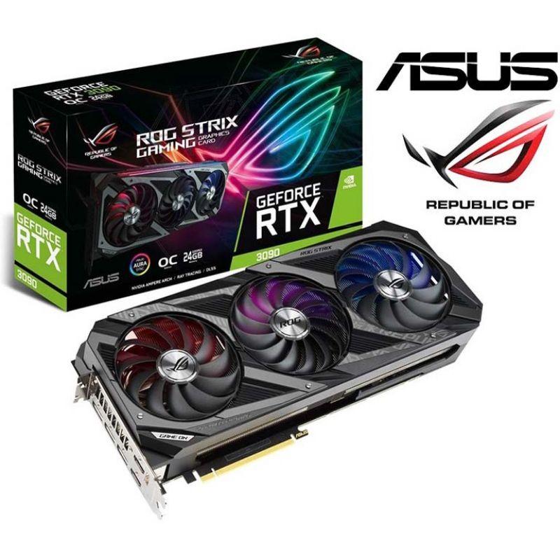 高價收二手《RTX 3090》超龍 MSI&ROG ASUS