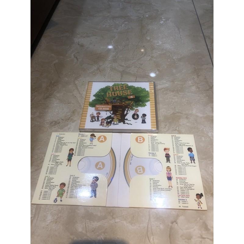 Tree house 4 CD二片+INteractive CD-ROM (何嘉仁)