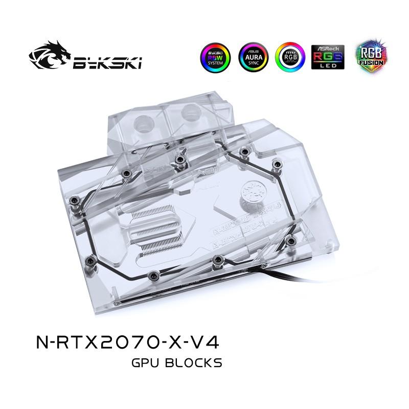 Bykski N-RTX2070-X-V4 NVIDIA Founders版本RTX2070顯卡水冷塊