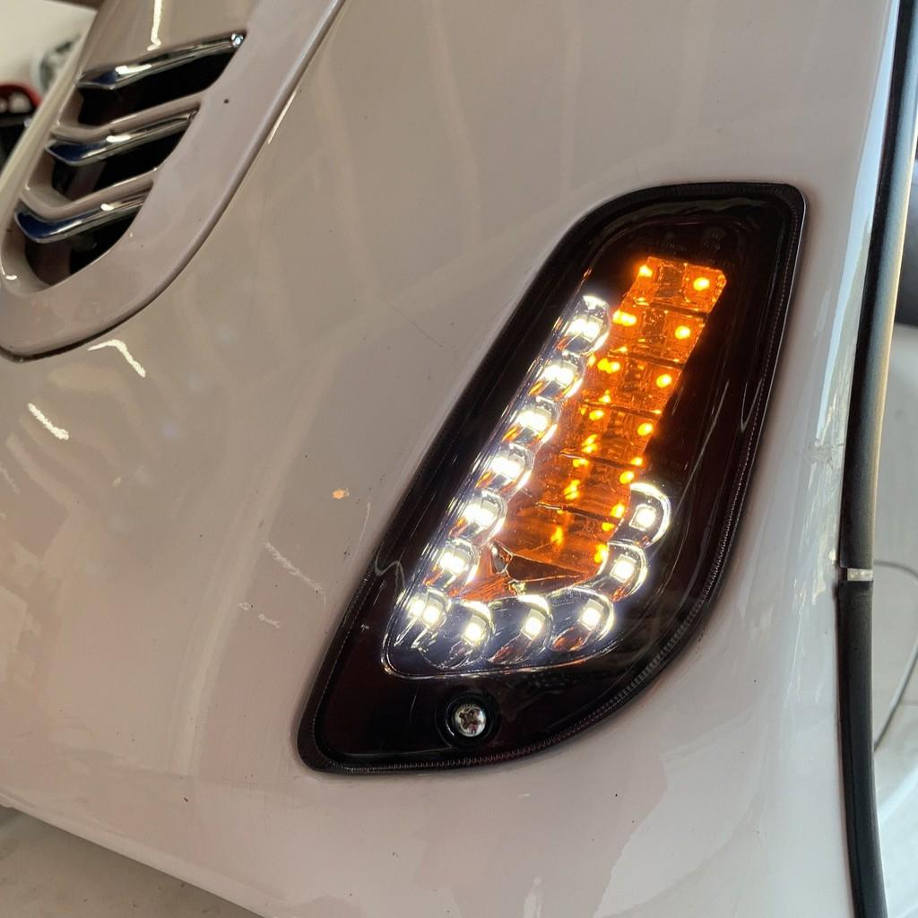 【盛傑車業】VESPA 偉士牌 改裝 LED 前方向燈 方向燈 GTS300
