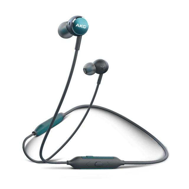 【愛科公司貨】 AKG Y100 WIRELESS 頸掛耳道式耳機 藍芽耳機 無線耳機 藍牙耳機 含線控麥克風 綠