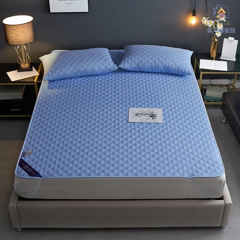 [依丹娜]護理級100%防水床墊式保潔墊(單人/雙人/加大/特大/枕套) 防水隔尿床墊保潔墊/保護床墊/防水墊床墊保護#