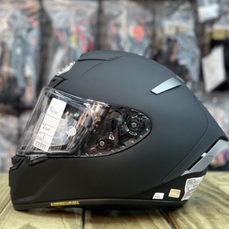 🛵大葉騎士部品 現貨 免運 SHOEI X-14 MT. BLACK 素色 消光黑 霧面 黑 全罩 全罩式 安全帽 日本