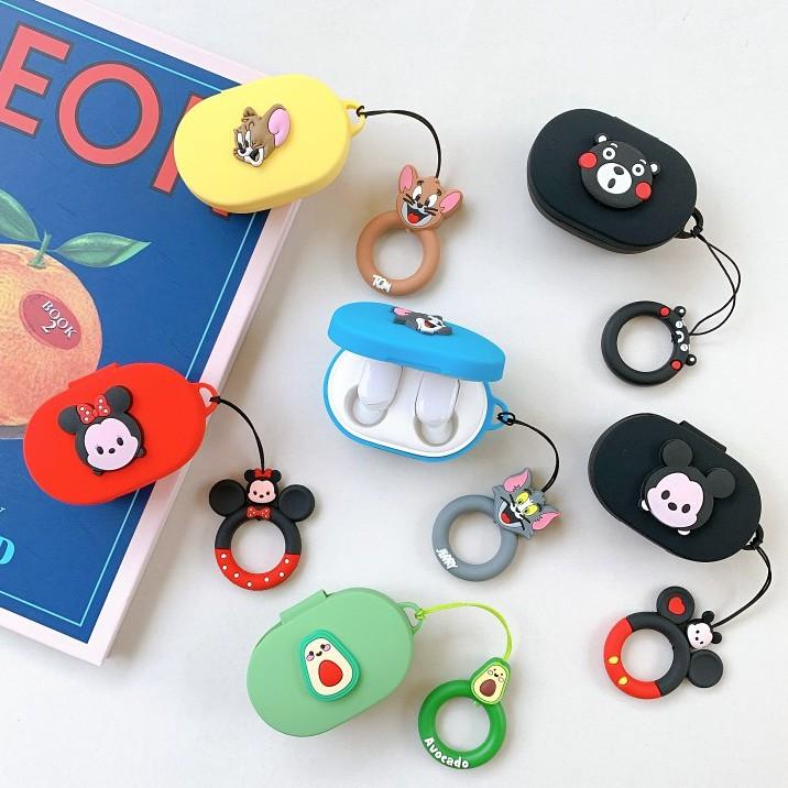 小米藍牙耳機Redmi AirDots2真無線藍牙耳機盒保護殼Earbuds超值版2青春版保護套米奇