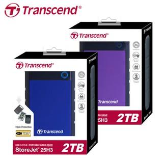 創見 Transcend StoreJet 25H3 USB3.0 2.5吋 美國軍規抗震 行動硬碟 1T 2T 4T 臺北市